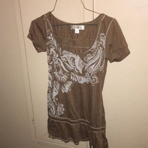 Decree top with Hoodie Small